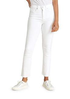 Veronica Beard High Waist Skinny Jeans