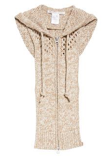 Veronica Beard Pernice Sleeveless Sweater Dickey