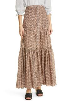 Veronica Beard Sundace Maxi Skirt