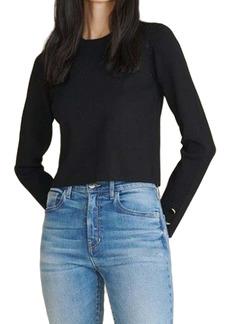 Veronica Beard Swan Crewneck Sweater