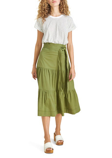 Veronica Beard Trail Mix Media Cotton Dress