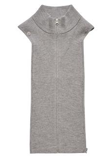 Veronica Beard Ty Rib Merino Wool Blend Sweater Dickey