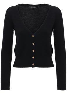 Versace Cashmere Mini Cardigan