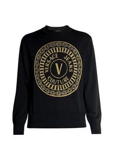 Versace Coin Logo Sweater