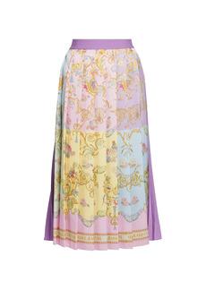Versace Confetti Pleated Skirt