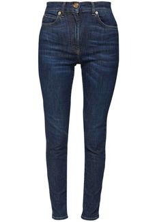 Versace Cotton Denim  Jeans W/ Medusa