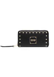 Versace logo stud wallet