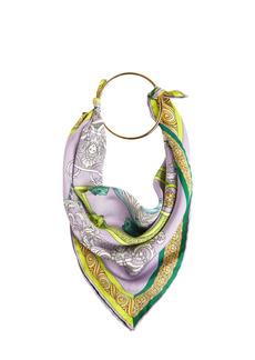 Versace Printed Silk Bandana