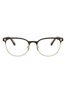Versace 53mm Oval Optical Glasses