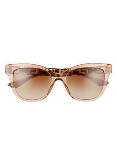 Versace 54mm Gradient Cat Eye Sunglasses