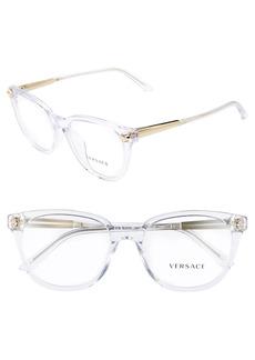 Versace 54mm Transparent Optical Glasses