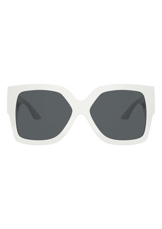 Versace 59mm Rectangular Sunglasses