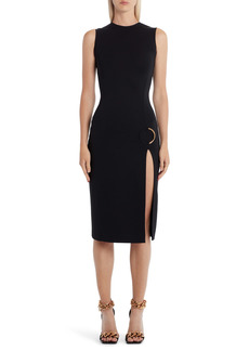 Versace Body-Con Stretch Jersey Cocktail Dress