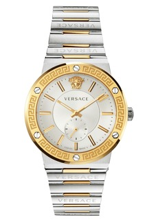 Versace Greca Logo Bracelet Watch, 41mm