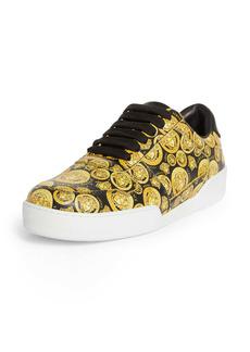 Versace Ilus Medusa Low Top Sneaker (Women)