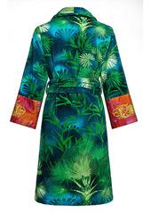 Versace Jungle Barocco Print Cotton Bathrobe