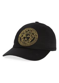 Versace Medusa Embroidered Baseball Cap