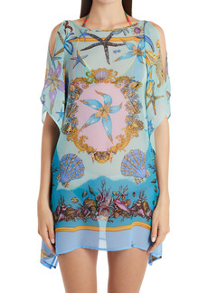 Versace Trésor de la Mer Silk Cover-Up Tunic