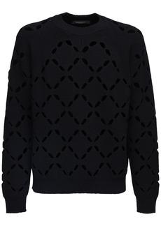 Versace Wool Knit Sweater