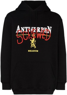 Vetements Antwerp Screwed print hoodie