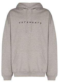 Vetements Friendly logo-print hoodie