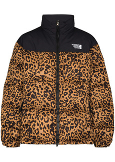Vetements leopard print padded jacket