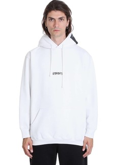 VETEMENTS Sweatshirt In White Cotton