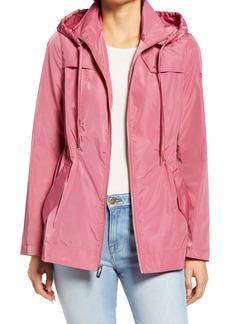 Via Spiga Water Repellent Packable Hooded Jacket