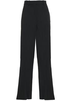 Victoria Beckham Woman Cutout Cady Wide-leg Pants Black