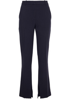 Victoria Beckham Woman Stretch-twill Slim-leg Pants Navy