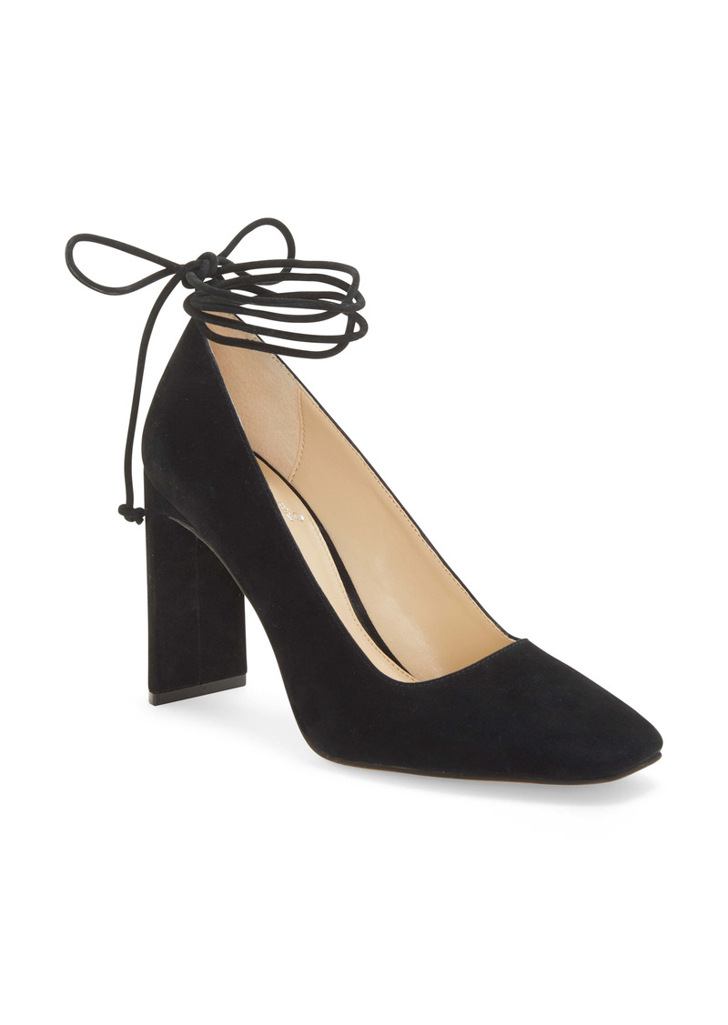 Women's Vince Camuto Damell Lace-Up Square Toe Pump