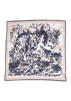 Vince Camuto Feline Jungle Silk Square Scarf