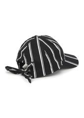 Vince Camuto Long Tie Back Baseball Cap