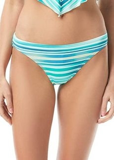 Vince Camuto Mediterranean Sea Stripe Classic Bikini Bottoms