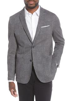 Men's Vince Camuto Slim Fit Crosshatch Performance Blazer