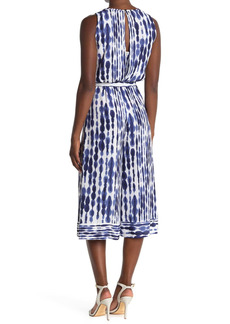 Vince Camuto Sleeveless Crepe Culotte Jumpsuit