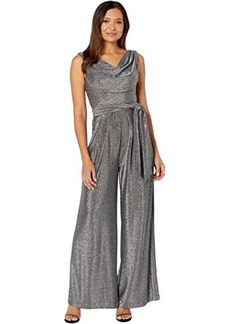 Vince Camuto Sleeveless Jumpsuit with Cowl Neck