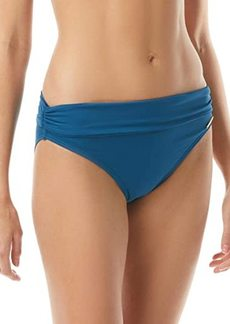 Vince Camuto Solid Convertible High-Waist Bottoms