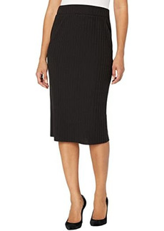 Vince Camuto Solid Pull-On Knit Skirt