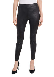 Vince Camuto Coated Leggings