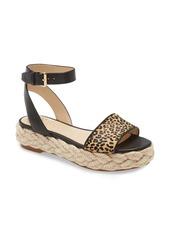Vince Camuto Defina Genuine Calf Hair Platform Sandal (Women)