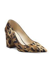 Vince Camuto Frittam Genuine Calf Hair Pointed Toe Pump (Women)