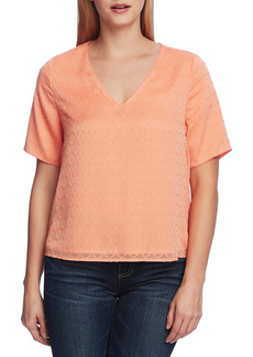 Vince Camuto Honeycomb Blouse