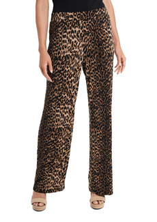 Vince Camuto Leopard Print Pull-On Pants
