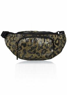 Vince Camuto Lev Belt Bag Leopard glitz