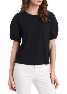 Vince Camuto Luxe Puff Sleeve Crêpe de Chine Blouse