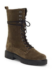 Vince Camuto Magjen Leather Combat Boot (Women)