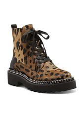 Vince Camuto Mindinta Calf Hair Combat Boot (Women)