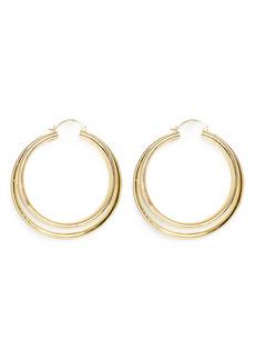 Vince Camuto Multi Row Hoop Earrings