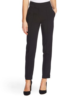 Vince Camuto Pintuck Stretch Crepe Skinny Pants